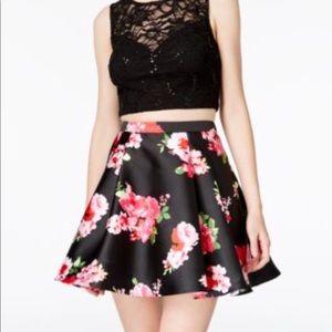B. Darlin floral Skirt PROM HOMECOMING